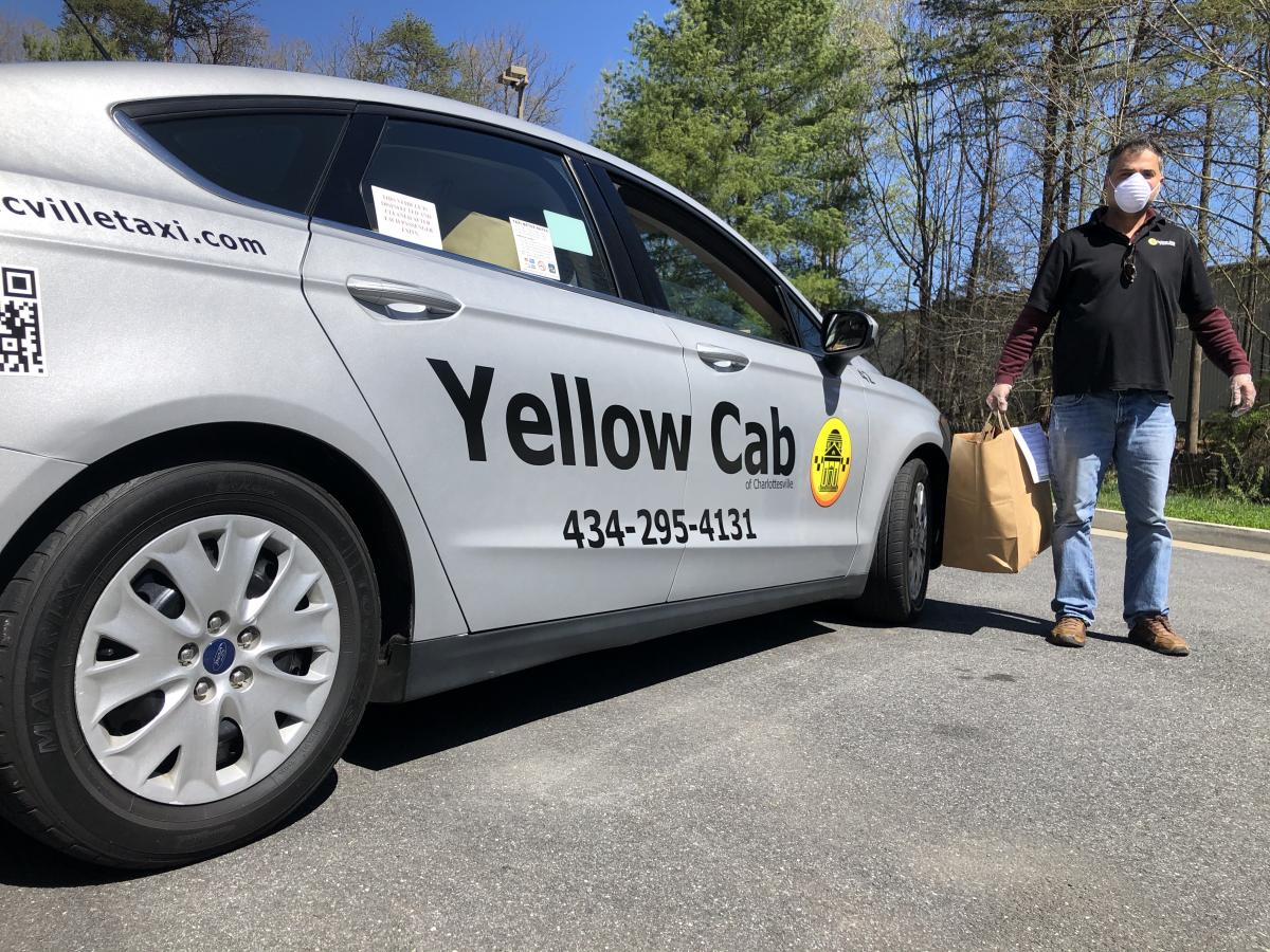Photo of a Yellow Cab of Charlottesville vehicle